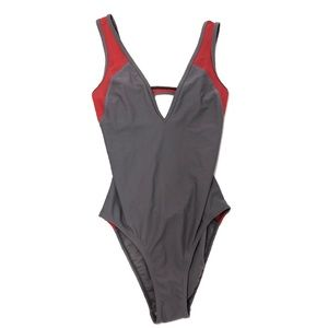 Adidas by Stella McCartney Swim - Stella McCartney Neoprene Mesh One Piece Swimsuit